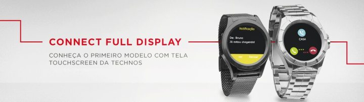Technos fulldisplay 720x202 - Technos lança o primeiro smartwatch brasileiro com Full Display Touch