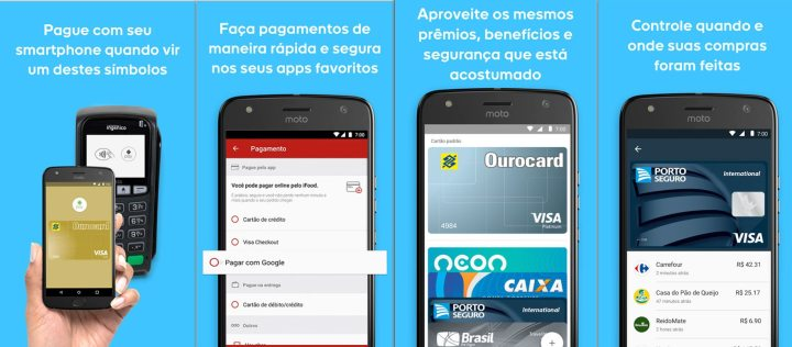 androidpay 720x316 - Google lança Android Pay no Brasil