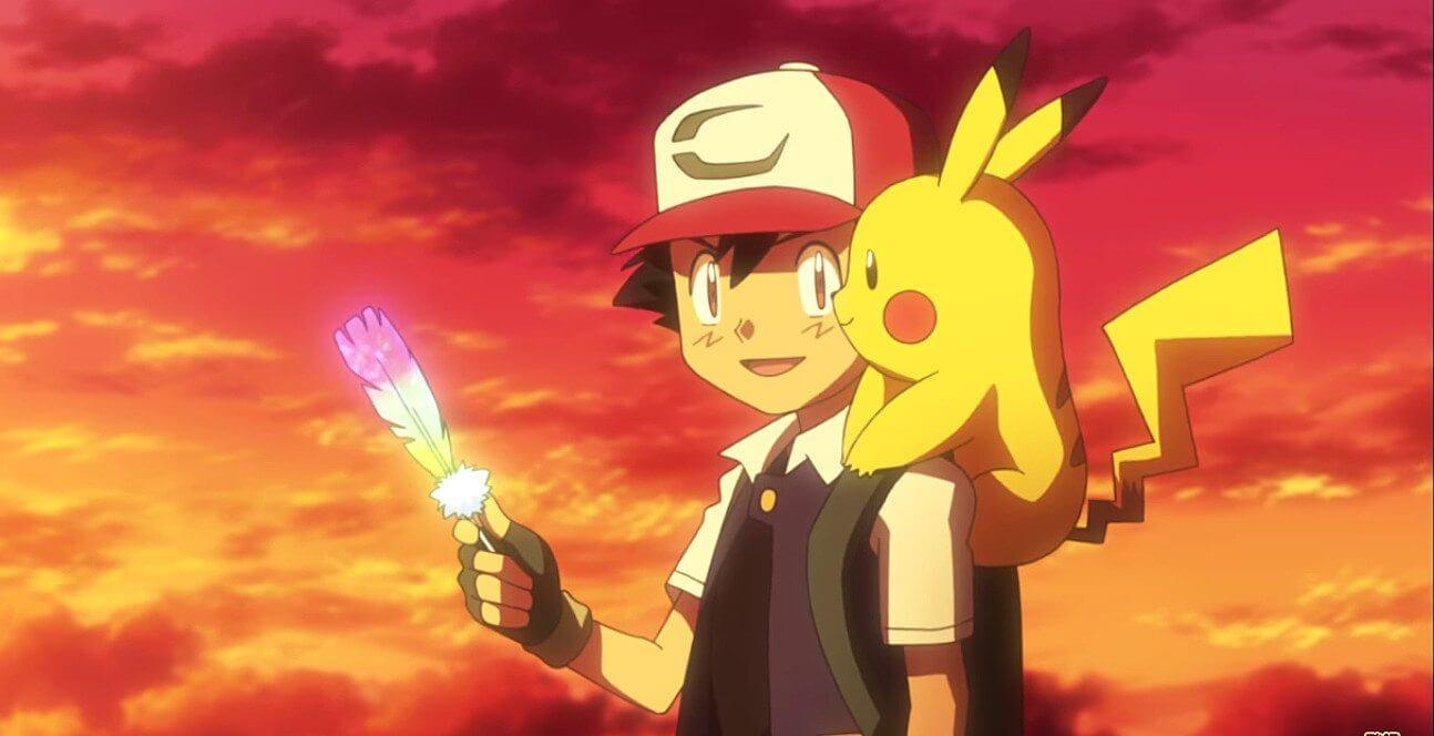 """pokemon i choose you escena - Crítica: """"Pokémon O Filme 20: Eu Escolho Você"""""""