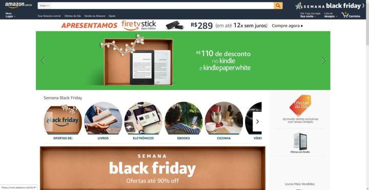 Grandes descontos no Kindle e outros e-readers na Black Friday da Amazon 6