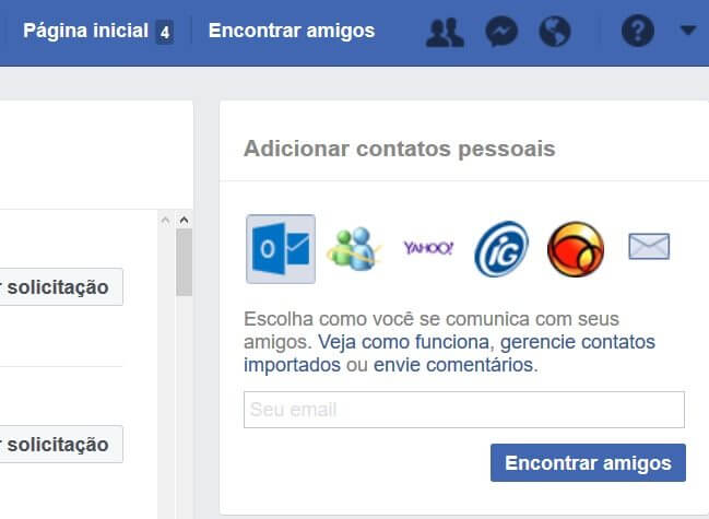 Como o Facebook descobre quem você conhece fora da rede 5