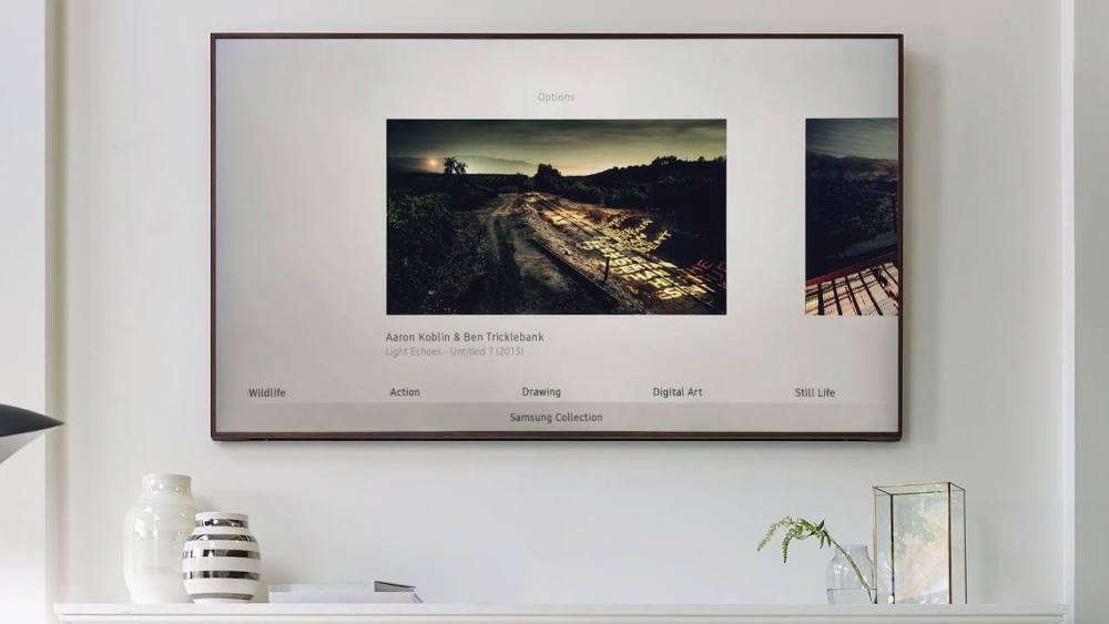 store - Review: Samsung The Frame TV, uma noite no museu