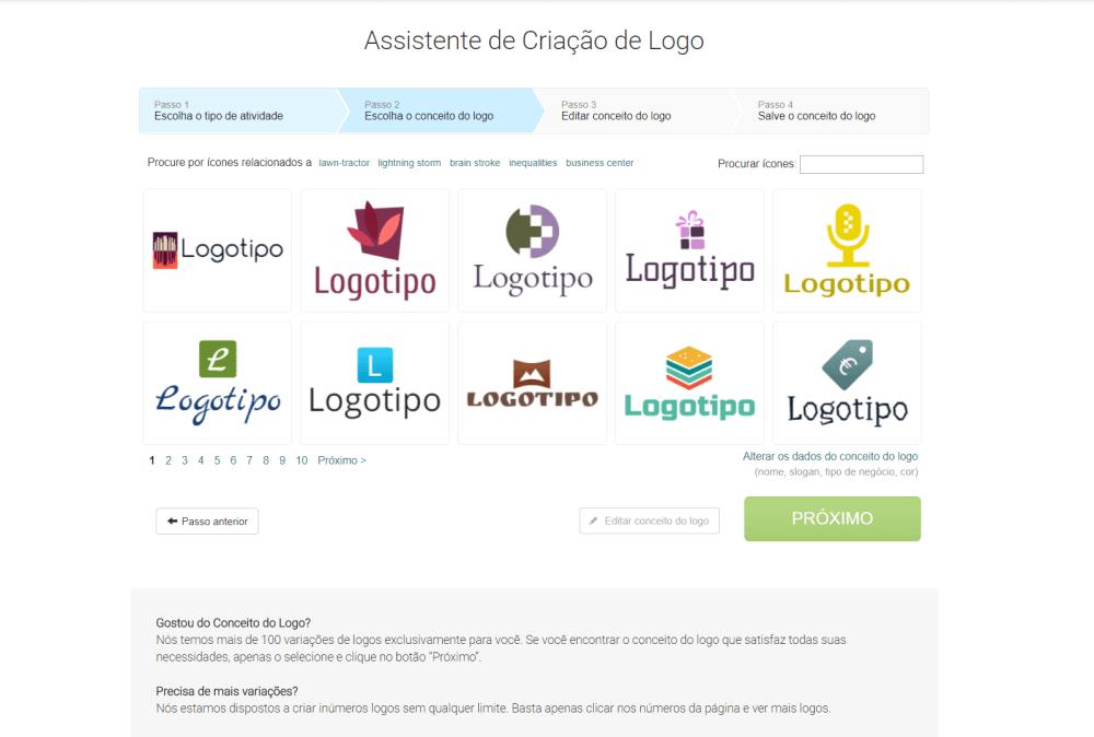 Captura de Tela 100 e1514142359335 - Logaster: crie uma logo para seu site ou empresa em poucos minutos