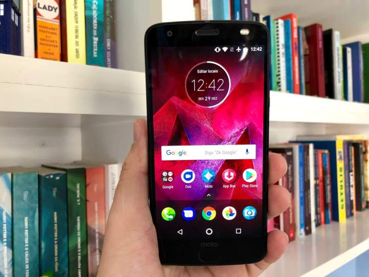 IMG 0466 720x540 - Review: Moto Z2 Force, o topo de linha da Motorola