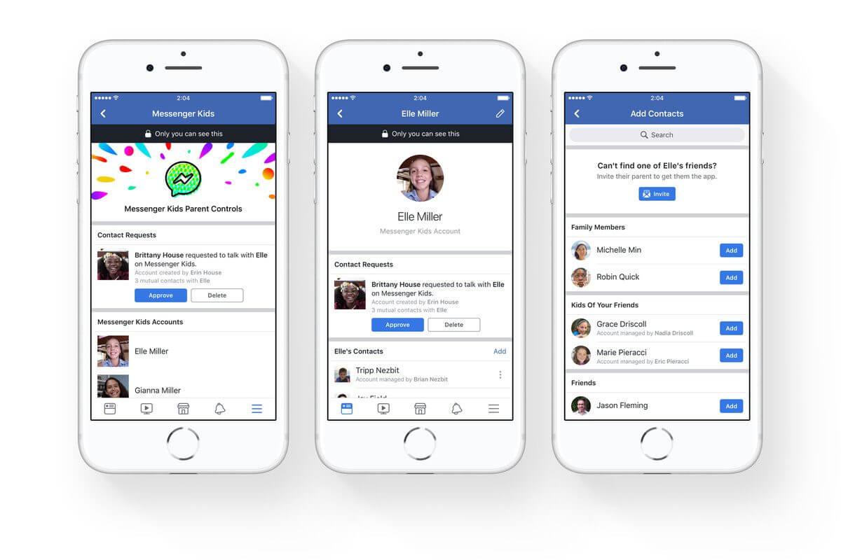 Mesenger Kids 1 - Facebook lança versão para menores de 13 anos
