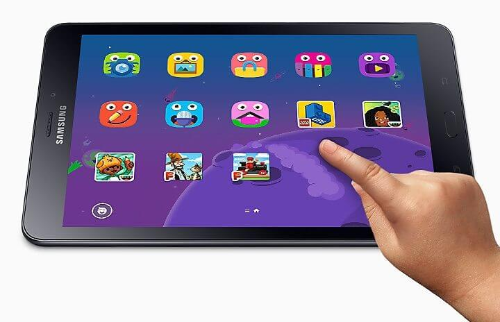 Samsung foto 4 - Conheça o Galaxy Tab A, novo tablet da Samsung projetado para toda a família