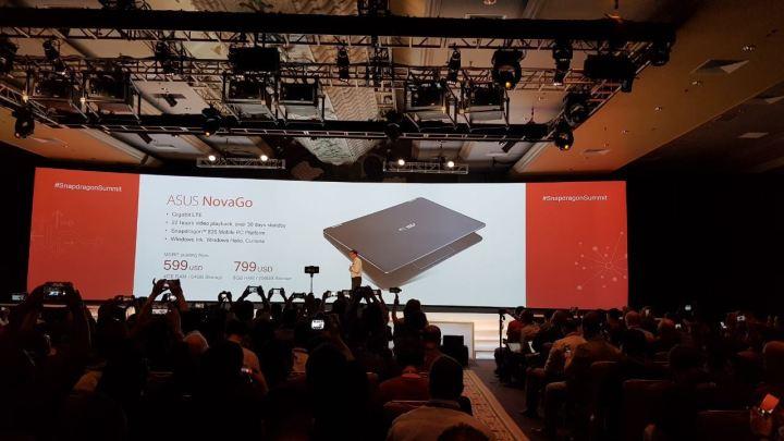 asus 720x405 - Qualcomm Summit: ASUS e HP apresentam notebooks com Snapdragon 835