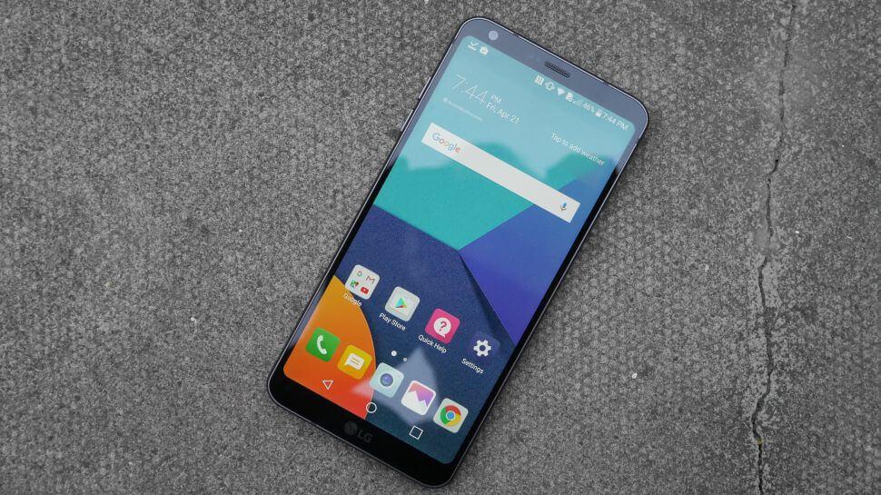 lg g6 - Consumer Reports lista os melhores smartphones de tela grande de 2017