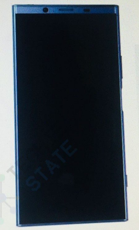 sony - Sony: vazamento mostra suposto Xperia XZ2 com tela sem bordas