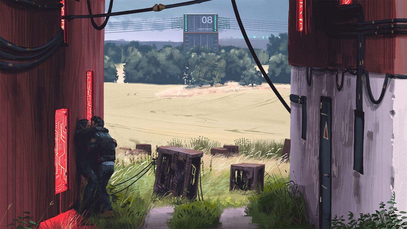 summerlove4 1920 - SURREAL: artista sueco cria paisagens futurísticas impressionantes