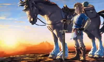 the legend of zelda artwork image 2880x1800 - Video Game Awards 2017: Zelda Breath of the Wild leva prêmio de jogo do ano