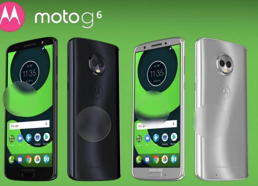 Vazamentos da Motorola revelam as especificações do Moto G6, Moto X5 e Moto Z3 6