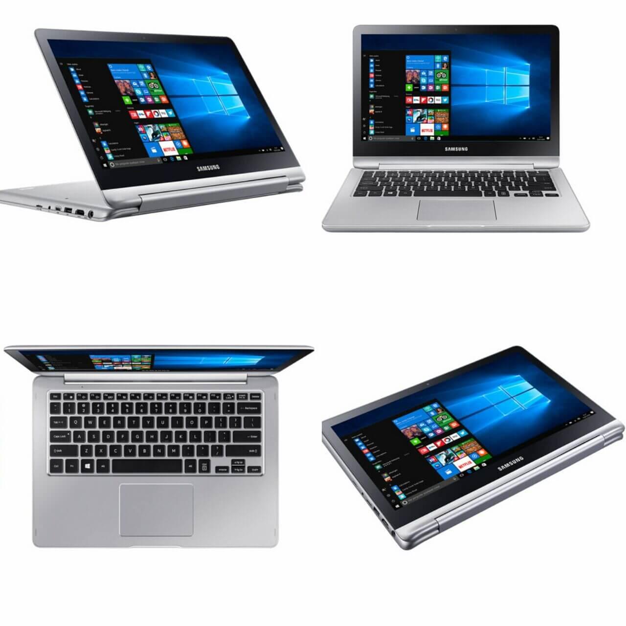 Novo notebook Samsung Style 2 em 1 tem touchscreen de 360 graus 8