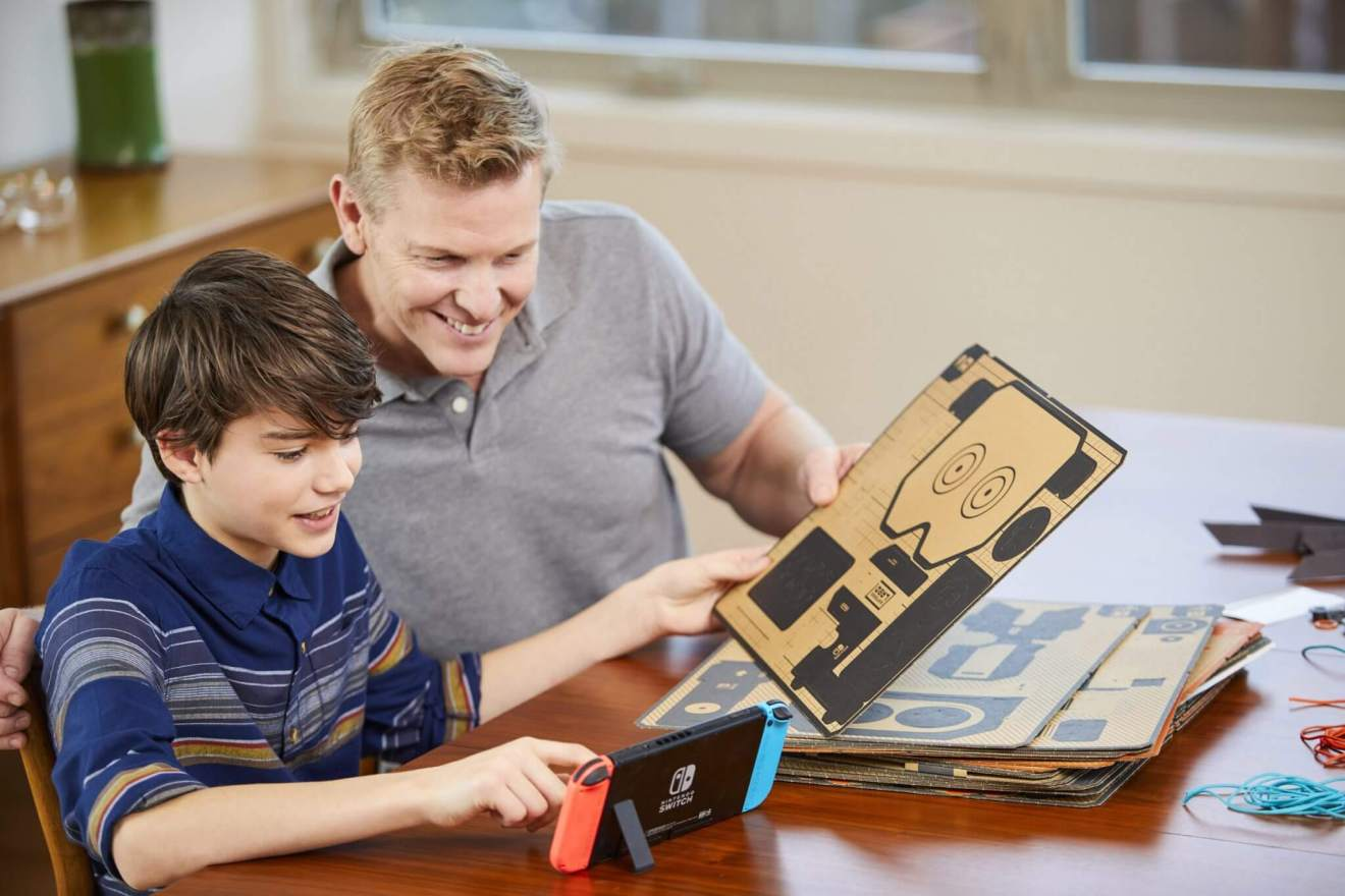 Switch NintendoLabo photo 09.0 - Nintendo Labo é a nova forma de brincar e interagir com o Switch