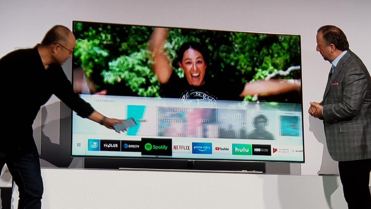 WhatsApp Image 2018 01 08 at 20.35.29 - CES 2018: Samsung vai integrar a assistente BixBy nas Smart TVs