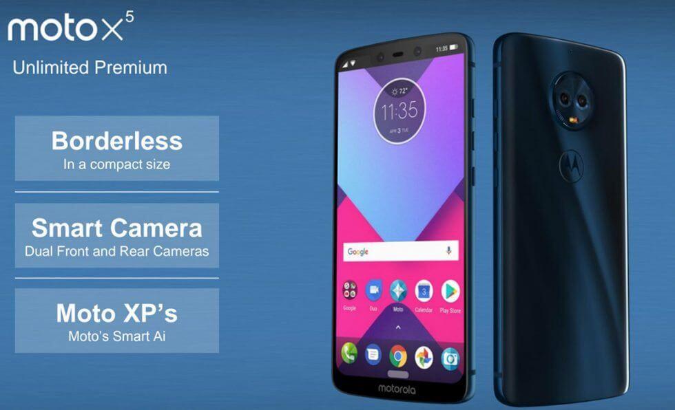 Vazamentos da Motorola revelam as especificações do Moto G6, Moto X5 e Moto Z3 9