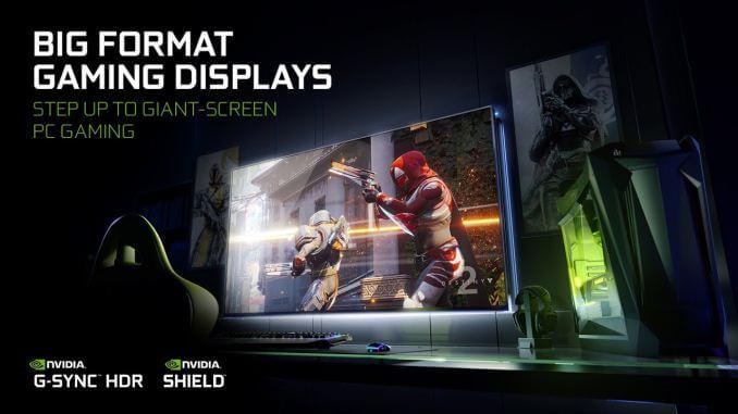 nv bfgd 678x452 - CES 2018: NVIDIA lança superTV 4K para gamers com G-Sync e 120Hz