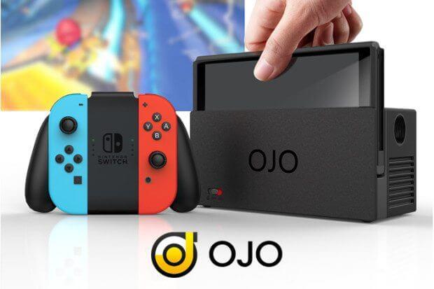 OJO: acessório para Nintendo Switch vai transformar sua jogatina 7