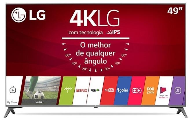 smart tv tv led 49 lg 4k hdr netflix 49uj6565 4 hdmi photo193431298 12 3f 32 - Smart TV: confira os modelos mais buscados no ZOOM em janeiro