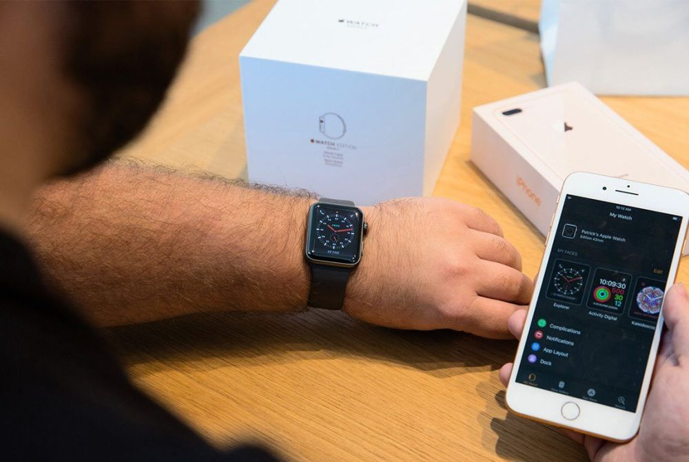 watchs3 launch iphone pairing 5th ave nyc - REVIEW: Apple Watch Series 3, o wearable do momento