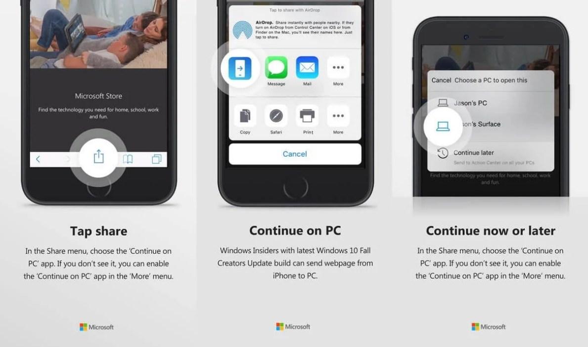 Continue on PC iOS - Usa tanto iOS quanto Windows 10? Veja os aplicativos essenciais para conectar as duas plataformas