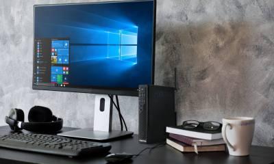 Positivo Master C820 1 1 - Master C820: Minidesktop da Positivo pode ser a solução para escritórios