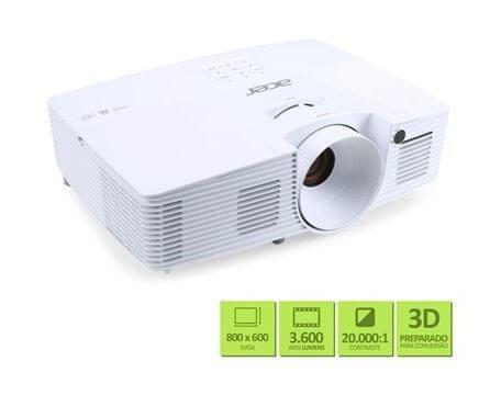 Projetor X1123H01 - Acer revela novos projetores para casas, estabelecimentos e mundo gamer