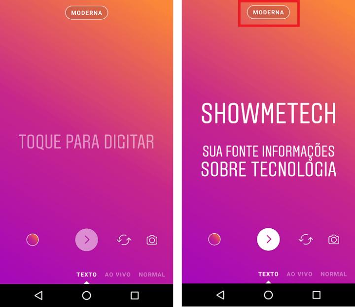Novo modo do Instagram Stories vai deixar seus textos mais estilosos 6