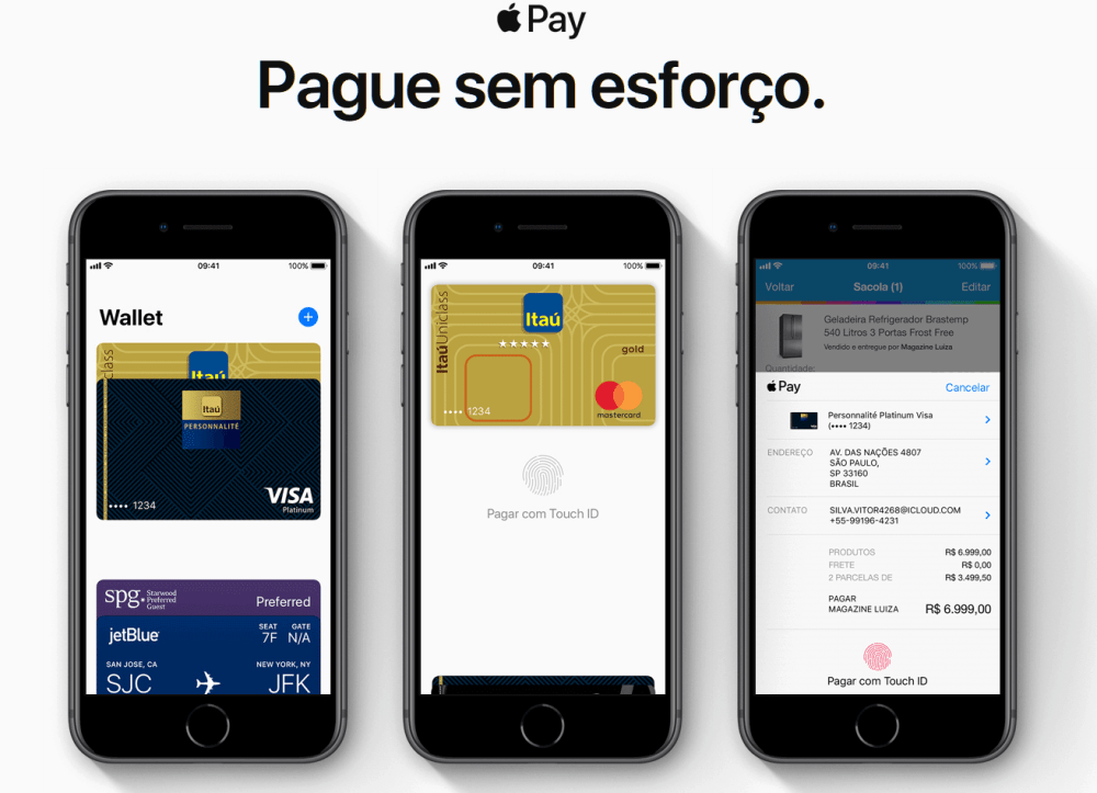 apple pay itau 1 - Itaú será o primeiro banco do brasil com Apple Pay