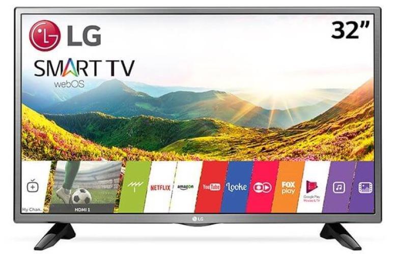 desk 32LJ520B 1 - Smart TV: confira os modelos mais buscados no ZOOM em fevereiro