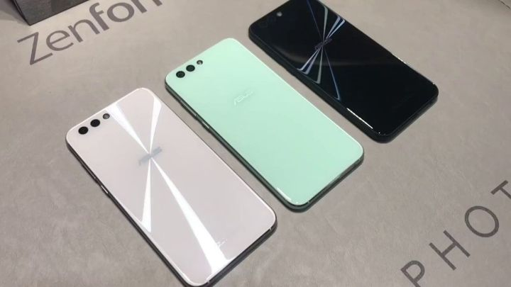 Zenfone 4 Mint Green