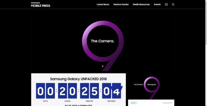 screenshot 20180224 173500 720x371 - Galaxy S9: saiba como acompanhar o lançamento direto de Barcelona