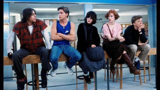 the breakfast club ss1 - Qual é o grande segredo dos filmes dos anos 80?