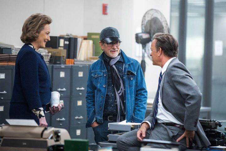 the post Streep Hanks and Spielberg 720x480 - Crítica - The Post: A Guerra Secreta