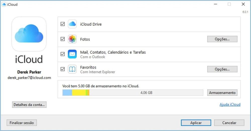 win10 icloud for windows v6 settings - Usa tanto iOS quanto Windows 10? Veja os aplicativos essenciais para conectar as duas plataformas