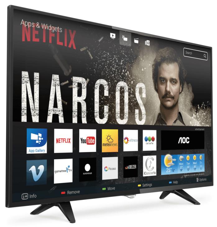 1503498802 AOC TV 5970 FTL - Smart TV: confira os modelos mais buscados no ZOOM em março