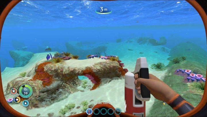 20180228085248 1 720x407 - Review: Subnautica (PC) tem sobrevivência e sandbox submarinos