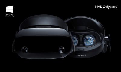 Samsung HMD Odyssey é novo óculos de realidade virtual compatível com Windows Mixed Reality