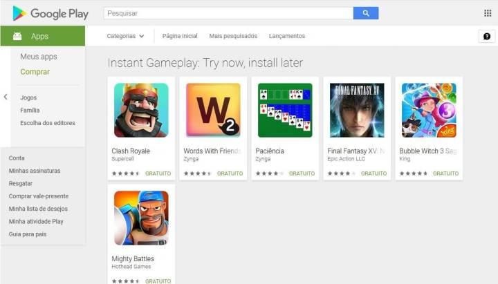 Instant Apps: novidade permite experimentar os jogos antes de baixar 7