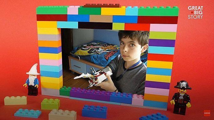 Jovem usa LEGO para construir braço protético 5