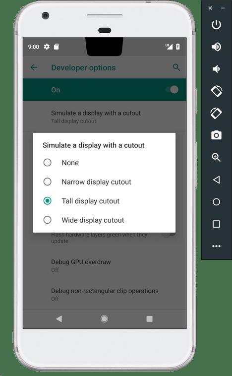android p dp1 notch 2 - Conheça todas as novidades do Android P Developer Preview