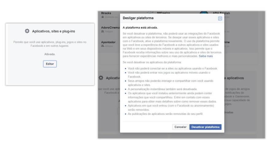 Como garantir que o Facebook não distribua seus dados 12