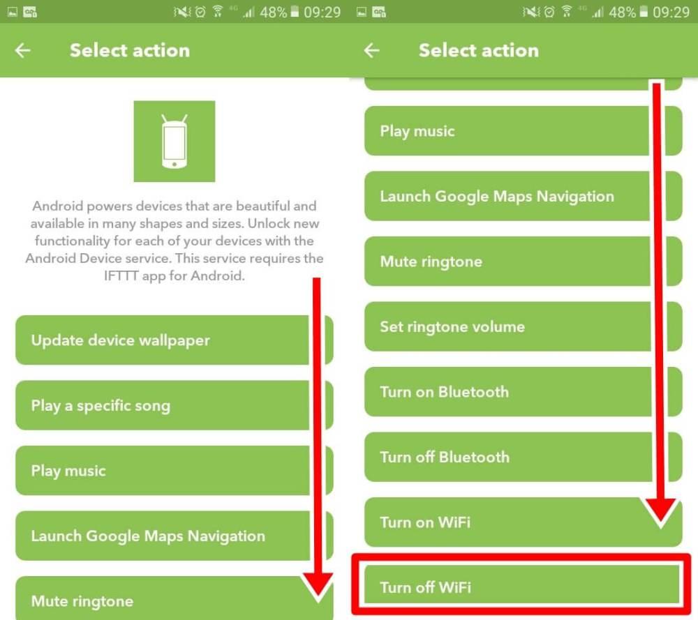 iftt07 - IFTTT: Como desligar o Wi-Fi do Android automaticamente quando a bateria estiver fraca