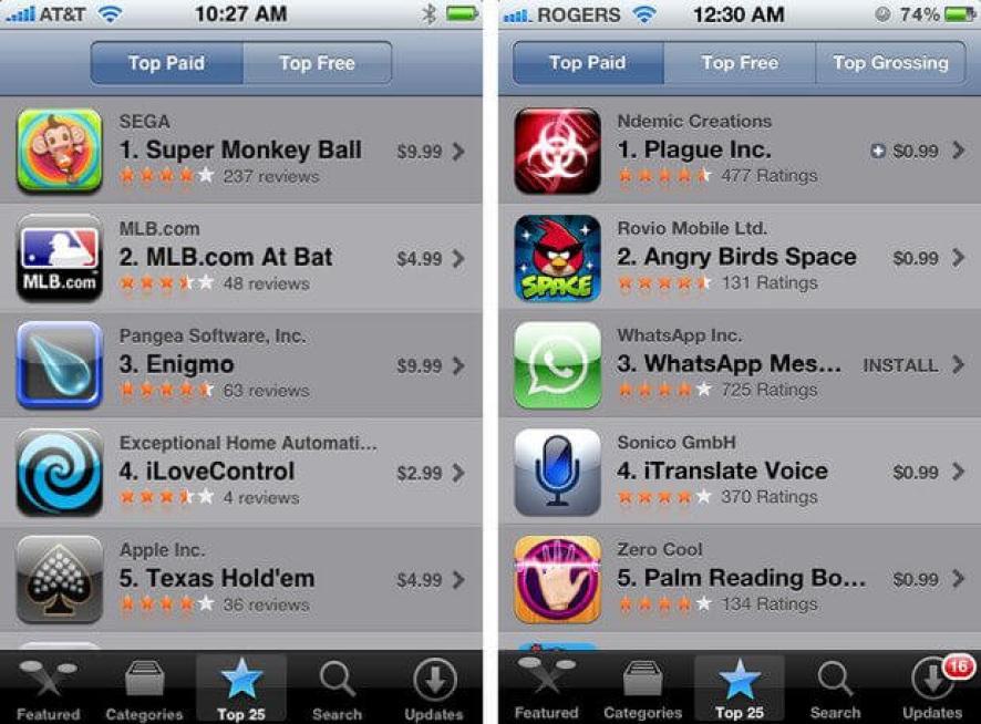 App Store: o primeiro ano de sucesso e obstáculos da loja da Apple no iOS 7