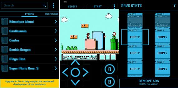 nostalgia nes android - Jogos clássicos no Android: 10 dos melhores emuladores grátis