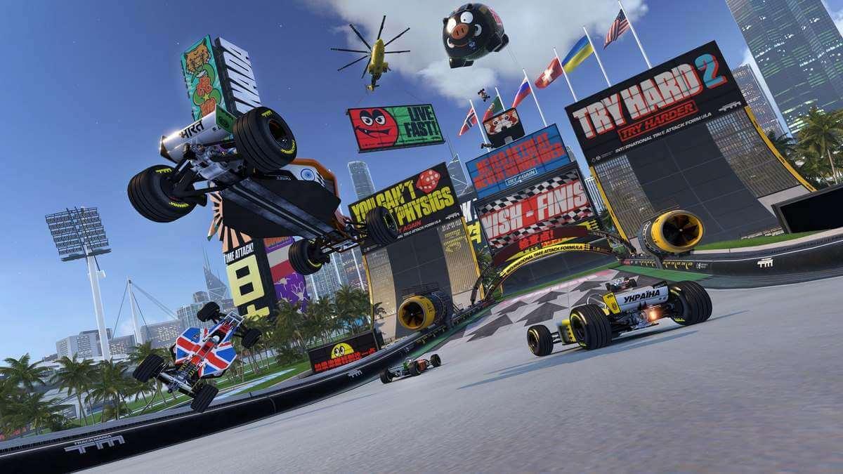 tfx analise trackmania turbo review introducao - PS Plus de abril terá Mad Max e muito mais