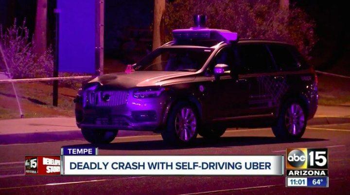 uber tempe 720x403 - Carro autônomo da Uber se envolve em acidente com vítima fatal