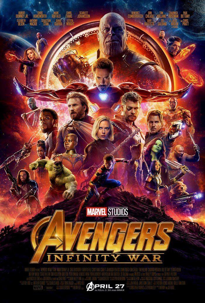 um poster de filme 16102826189046 - Confira o novo trailer e pôster de Vingadores: Guerra Infinita