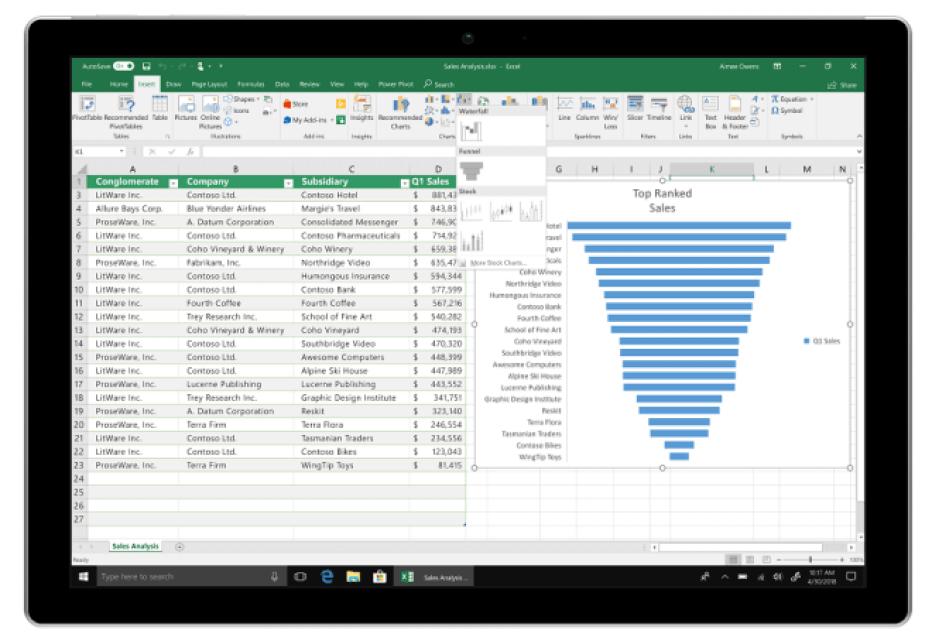 """Microsoft anuncia o """"Commercial Preview"""" do Office 2019 e algumas novidades da nova versão do pacote 7"""