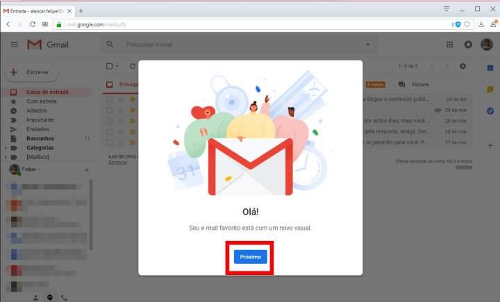 3 2 720x435 - Tutorial: Como ativar o novo design do Gmail